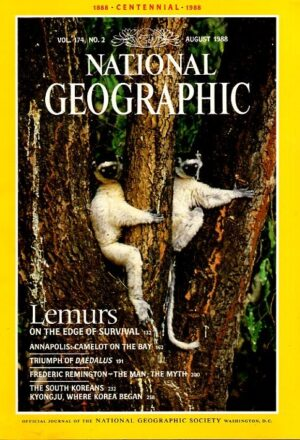 National Geographic August 1988-0
