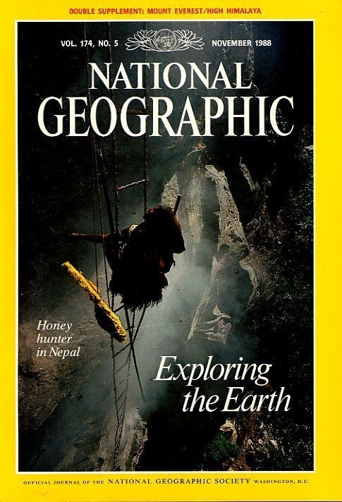 National Geographic November 1988-0