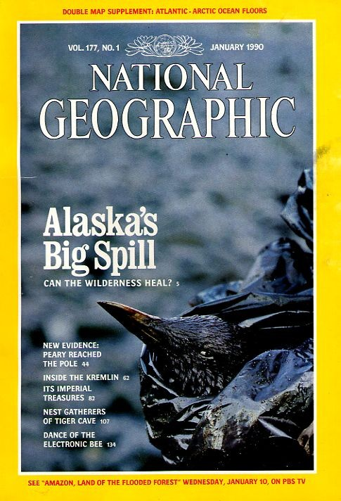 National Geographic January 1990-0