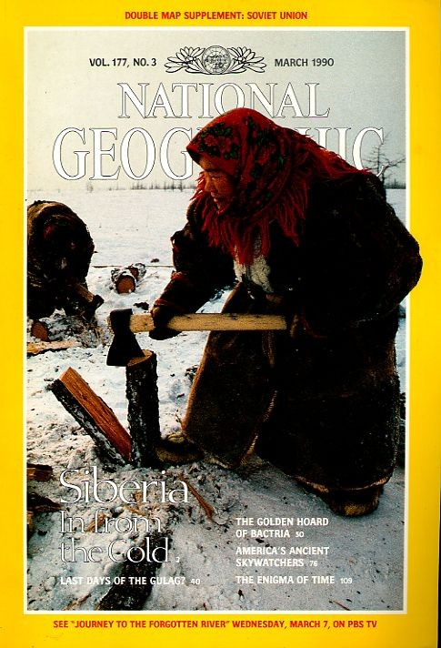 National Geographic March 1990-0