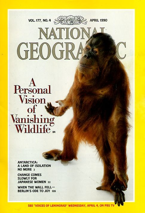 National Geographic April 1990-0