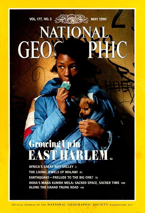 National Geographic May 1990-0