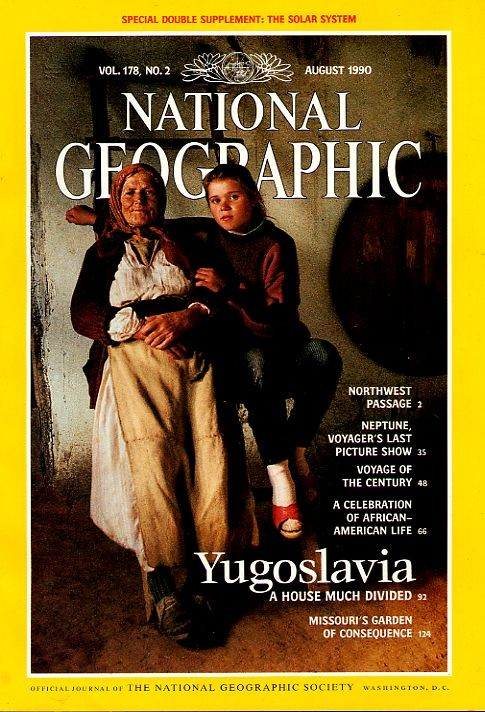 National Geographic August 1990-0