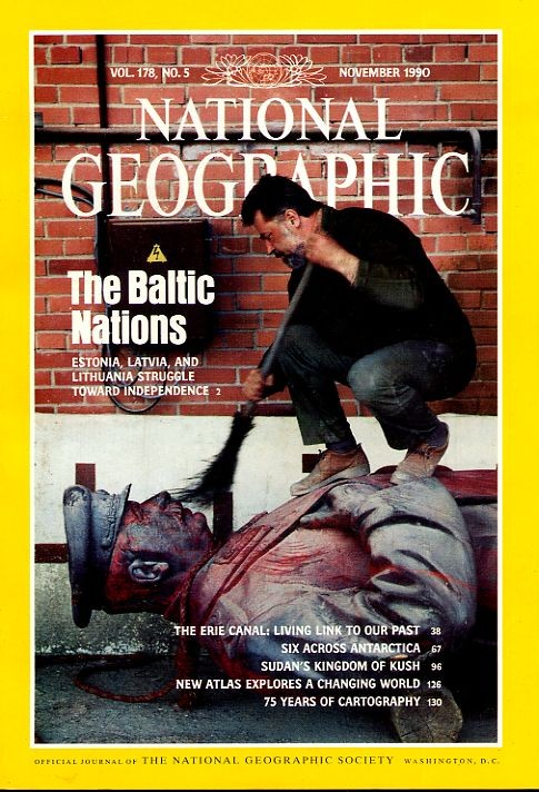 National Geographic November 1990-0
