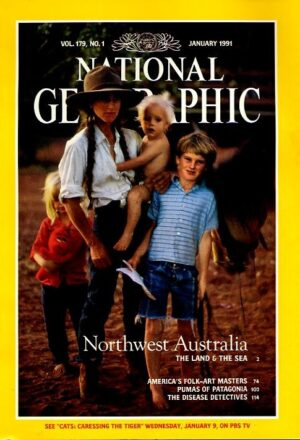 National Geographic January 1991-0