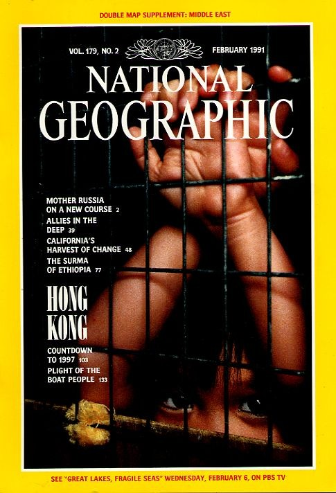 National Geographic February 1991-0