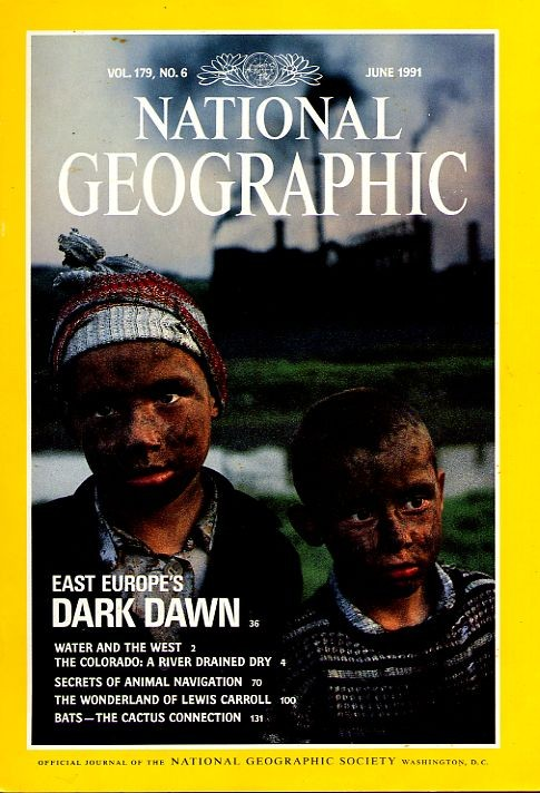 National Geographic June 1991-0