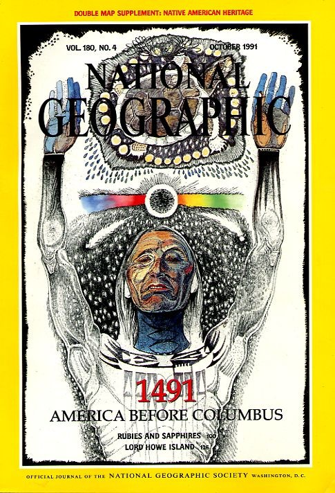 National Geographic October 1991-0
