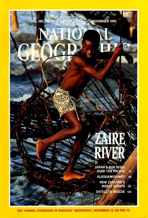National Geographic November 1991-0