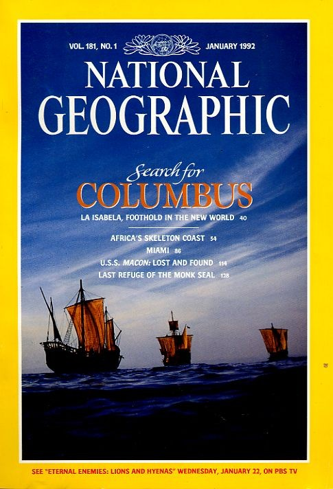 National Geographic January 1992-0