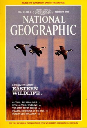 National Geographic February 1992-0