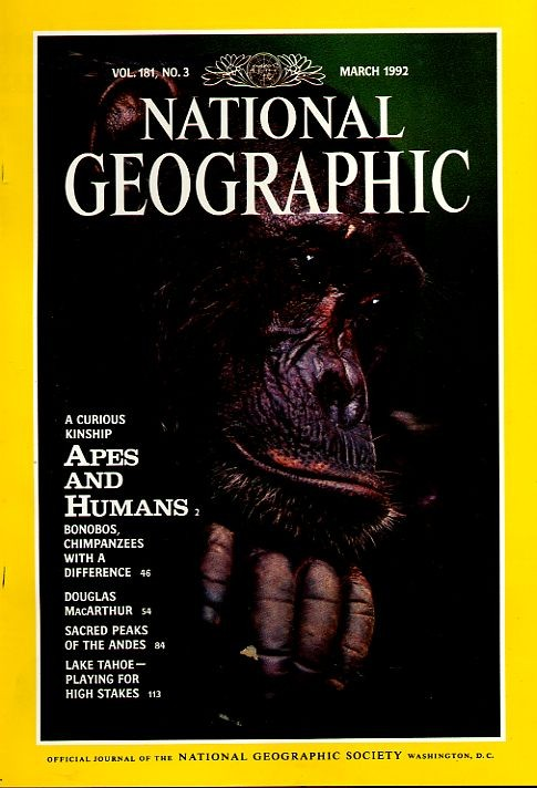 National Geographic March 1992-0