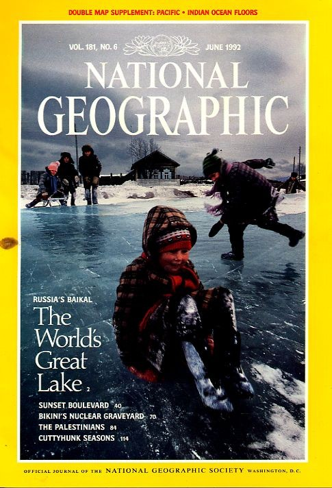 National Geographic June 1992-0