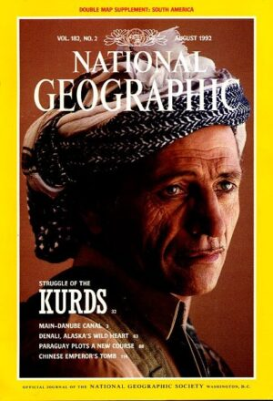 National Geographic August 1992-0