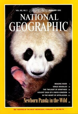 National Geographic February 1993-0