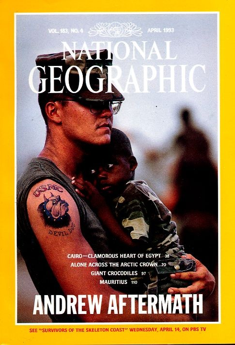 National Geographic April 1993-0