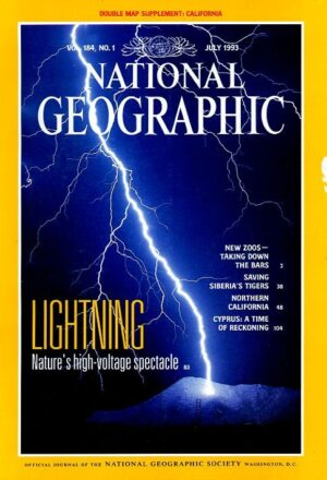 National Geographic July 1993-0