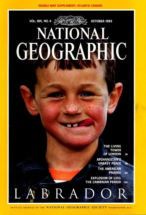 National Geographic October 1993-0