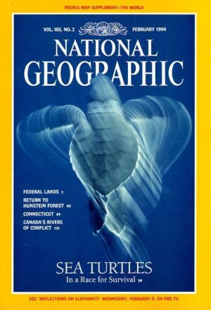 National Geographic February 1994-0