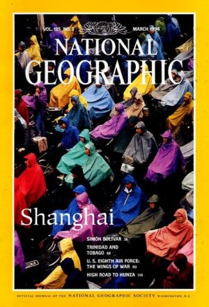 National Geographic March 1994-0