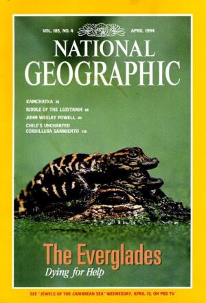 National Geographic April 1994-0