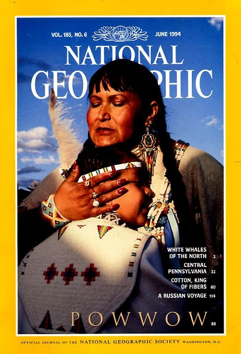 National Geographic June 1994-0