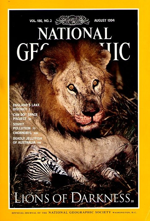 National Geographic August 1994-0