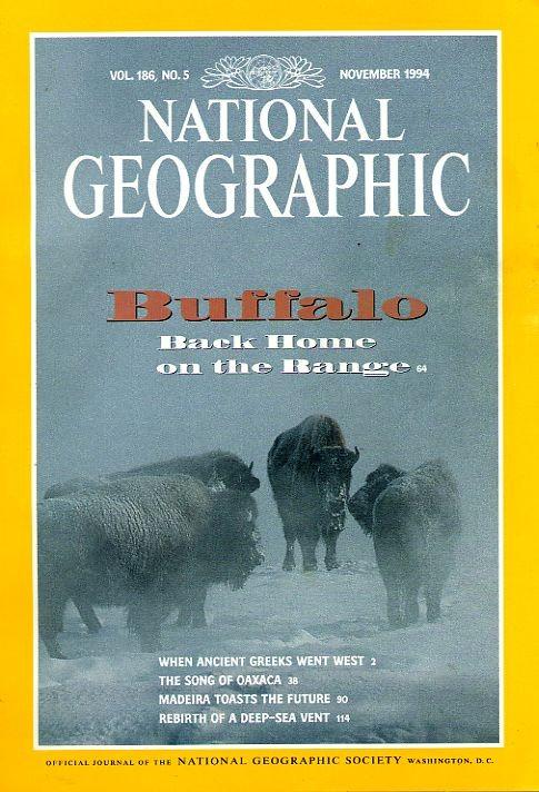 National Geographic November 1994-0