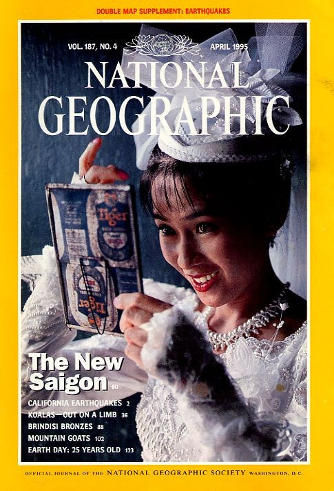 National Geographic April 1995-0