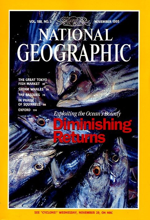 National Geographic November 1995-0