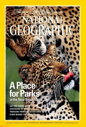 National Geographic July 1996-0