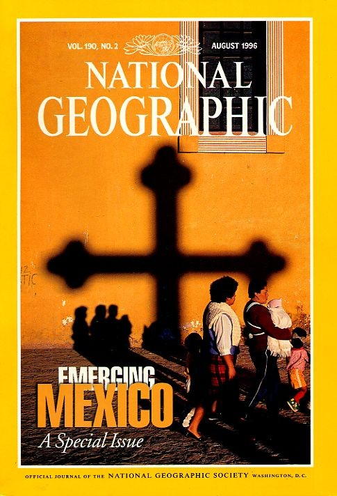 National Geographic August 1996-0