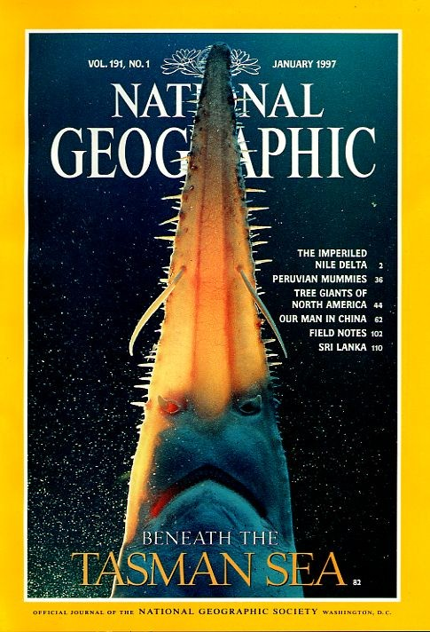 National Geographic January 1997-0