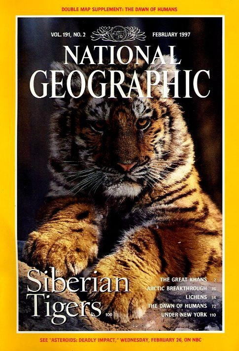 National Geographic February 1997-0