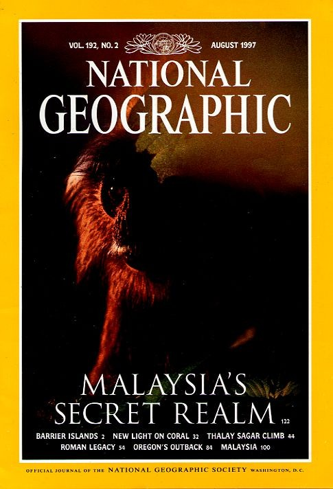 National Geographic August 1997-0