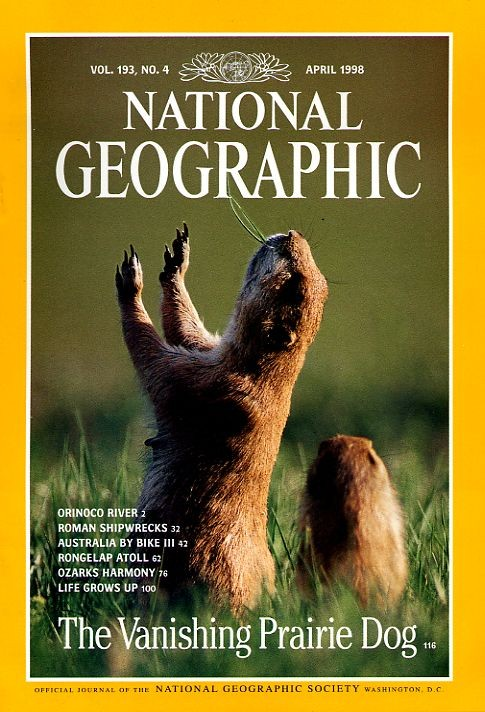 National Geographic April 1998-0