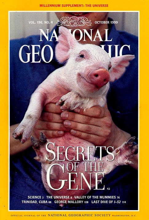 National Geographic October 1999-0