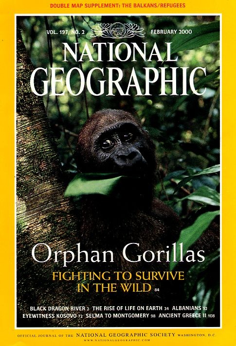 National Geographic February 2000-0