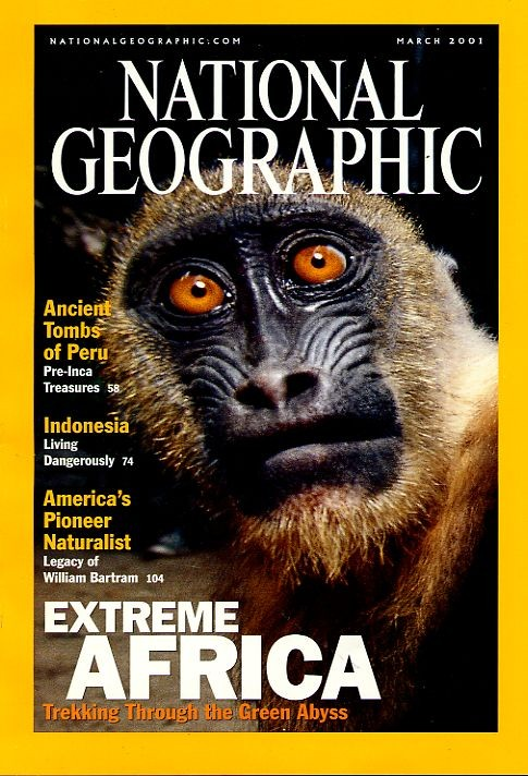 National Geographic March 2001-0