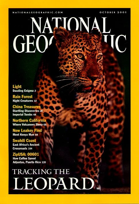National Geographic October 2001-0