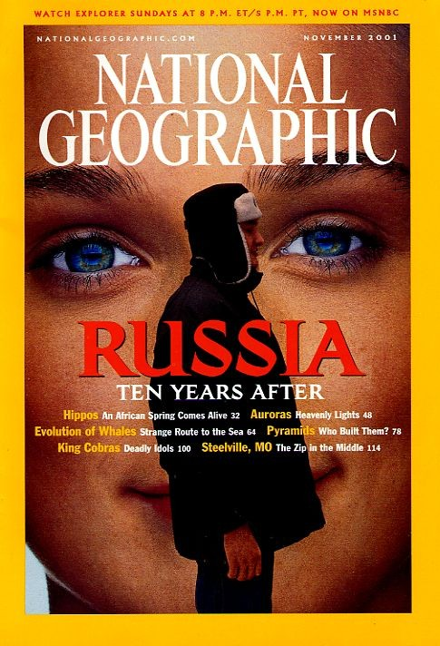 National Geographic November 2001-0