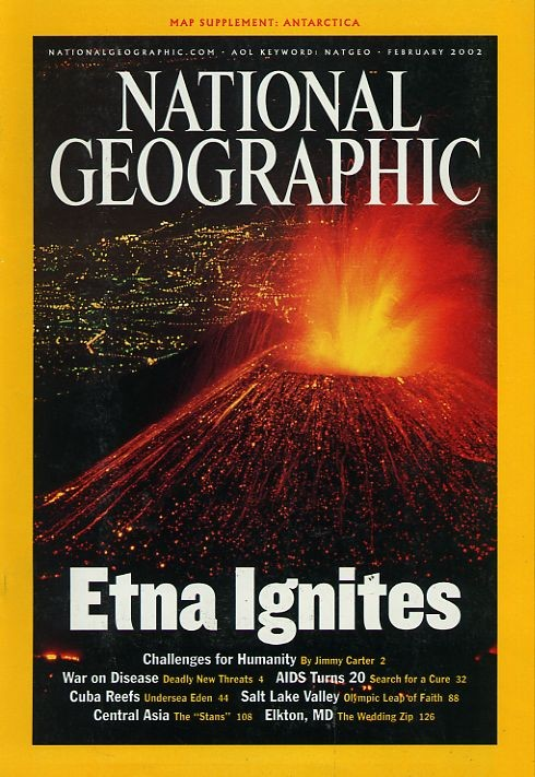National Geographic February 2002-0