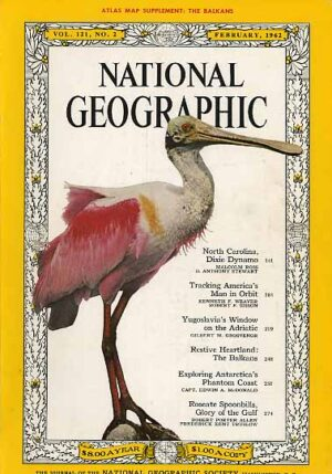 National Geographic February 1962-0