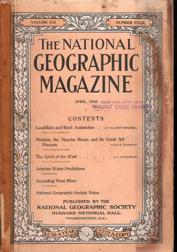 National Geographic April 1910-0