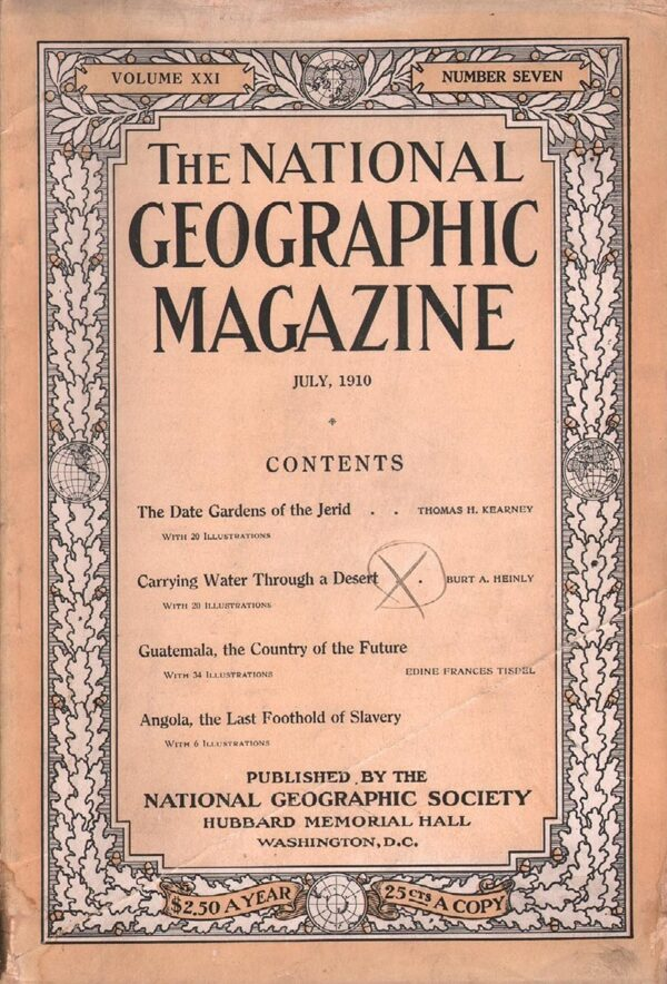 National Geographic July 1910-0