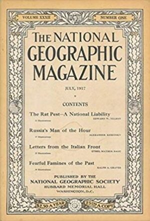 National Geographic July 1917-0