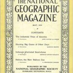 National Geographic May 1919-0