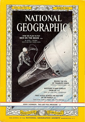 National Geographic March 1964-0