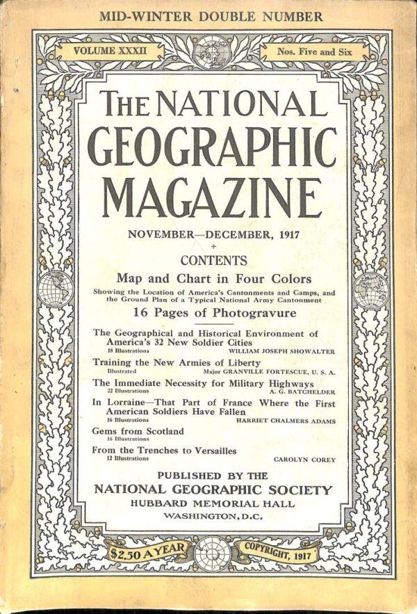 National Geographic November-December 1917-0