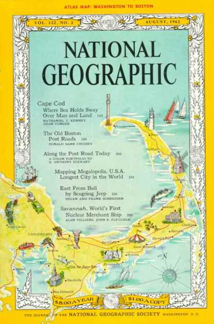 National Geographic August 1962-0